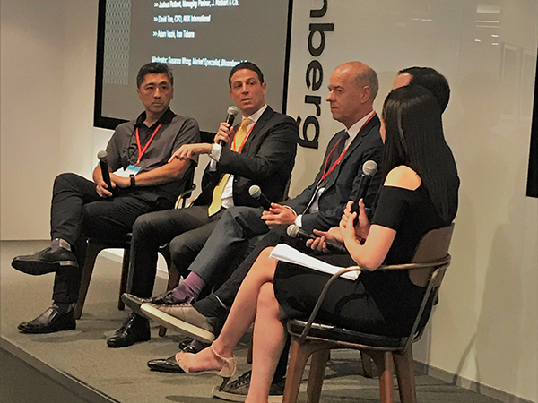 Bloomberg panel 2018
