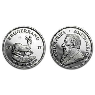South African Krugerrand (Rand Refinery and South African Mint)
